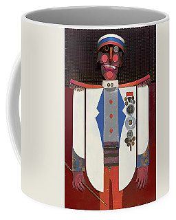 The Commander Coffee Mug by Bob Coonts