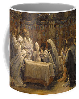 The Communion Of The Apostles Coffee Mug