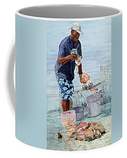 The Conch Man Coffee Mug