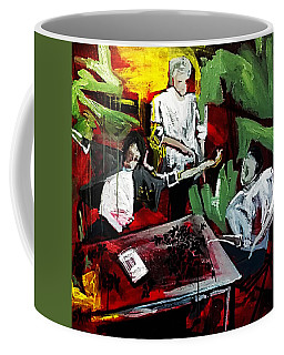 Coffee Mug featuring the painting The Contract by Helen Syron