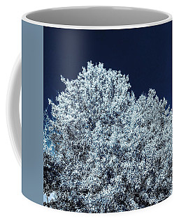 The Contrast Of Yellow And Blue In Bluescale Coffee Mug