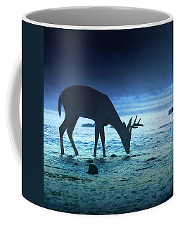 The Cool Of The Night - Square Coffee Mug