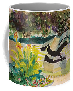 The Corinthian Garden Coffee Mug