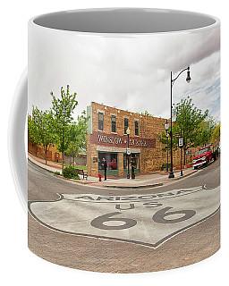 The Corner In Winslow Coffee Mug