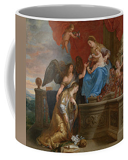 The Coronation Of St. Rosalia Coffee Mug