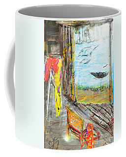 The Cottage By The River Coffee Mug