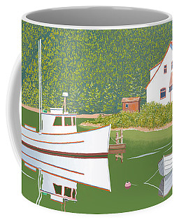 The Cottsge At Blackberry Point Coffee Mug