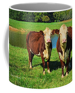 The Cow Girls Coffee Mug