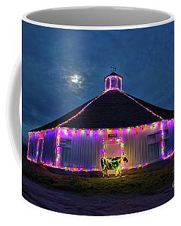The Cow Is Out Of The Christmas Barn Coffee Mug