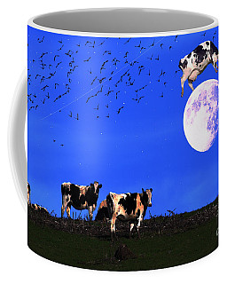 The Cow Jumped Over The Moon Coffee Mug