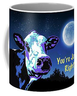 The Cow Jumps Over The Moon Coffee Mug