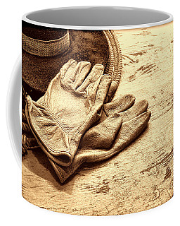 The Cowboy Gloves Coffee Mug