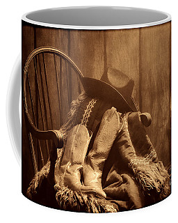 The Cowgirl Rest Coffee Mug by American West Legend By Olivier Le Queinec