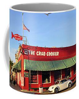 The Crab Cooker In Balboa Park Newport Beach California Coffee Mug