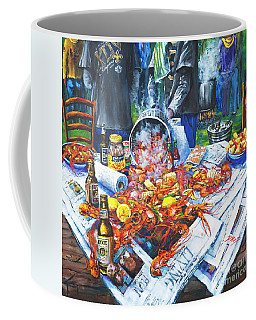 The Crawfish Boil Coffee Mug