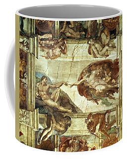 The Creation Of Adam Coffee Mug