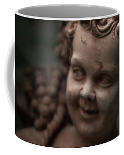 The Creepy Statue Coffee Mug