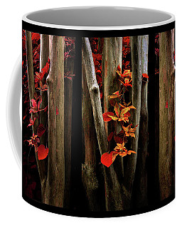 Coffee Mug featuring the photograph The Crimson Forest by Jessica Jenney