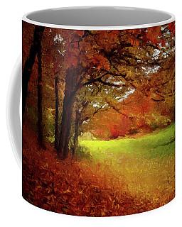 The Crimson Season P D P Coffee Mug
