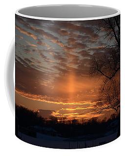 The Cross In The Sunset Coffee Mug