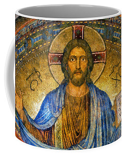 Coffee Mug featuring the digital art The Cross Of Christ by Ian Mitchell