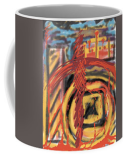 The Cross Over Coffee Mug