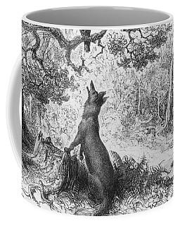The Crow And The Fox Coffee Mug