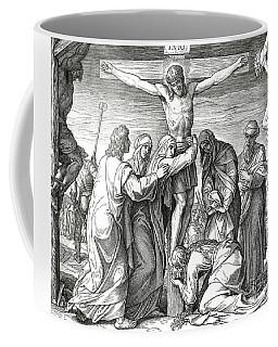 The Crucifixion Of Jesus On The Cross, Gospel Of John Coffee Mug