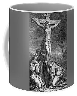 the cruzifixion of Christ Coffee Mug