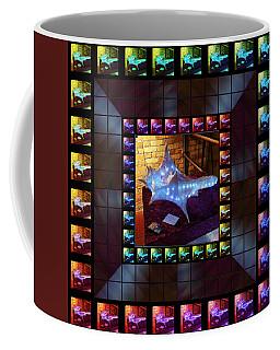 The Crystal Shell - Illuminated Coffee Mug