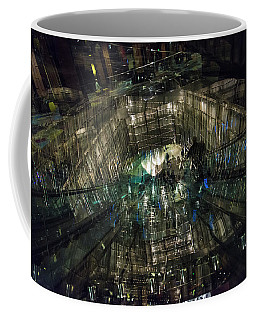 Coffee Mug featuring the photograph The Crystal Station by Alex Lapidus