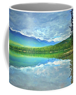 Coffee Mug featuring the photograph The Crystal Waters Of Lake Annette by Tara Turner