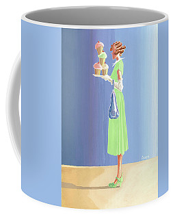 The Cupcake Lady Coffee Mug