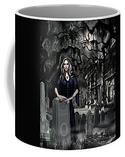 Coffee Mug featuring the painting The Curse Of Johnson Bayou by James Christopher Hill