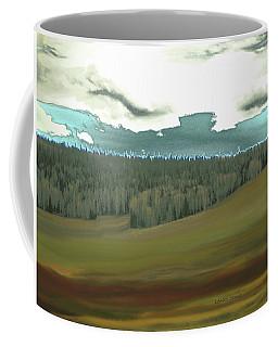 The Curving Sky Coffee Mug by Lenore Senior