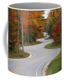 The Curvy Road Coffee Mug