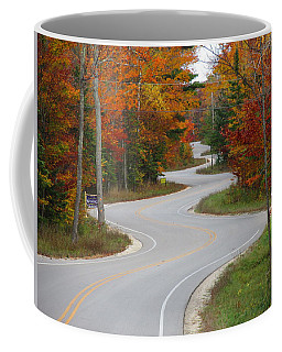 The Curvy Road Coffee Mug