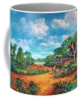 The Cycle Of Life Coffee Mug by Randy Burns