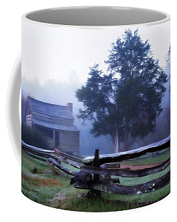 Coffee Mug featuring the photograph The Dan Lawson Place by Lana Trussell