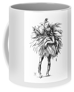 The Dance Macabre Coffee Mug by Yvonne Wright