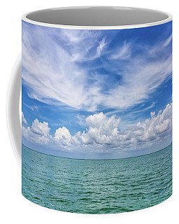 The Dance Of Clouds On The Sea Coffee Mug