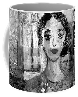 The Dancer In Black N White Coffee Mug