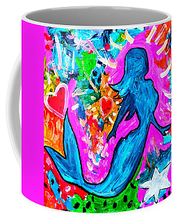 The Dancing Mermaid Coffee Mug