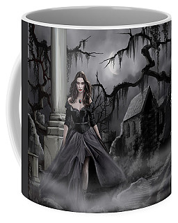 The Dark Caster Comes Coffee Mug by James Christopher Hill