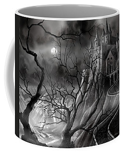 The Dark Castle Coffee Mug by James Christopher Hill