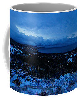 The Dawn Of Winter Coffee Mug by Sean Sarsfield