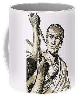 The Death Of Caesar Coffee Mug