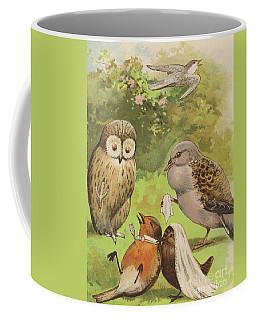 The Death Of Cock Robin Coffee Mug