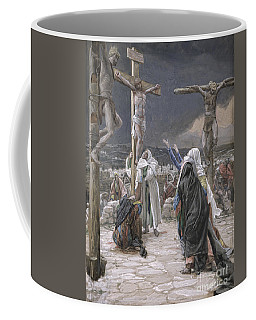 The Death Of Jesus Coffee Mug