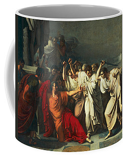 The Death Of Julius Caesar Coffee Mug